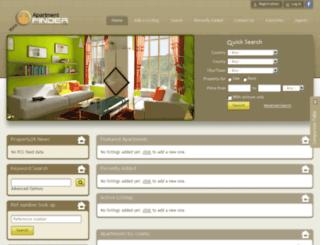 apartmentfinder.co.ke screenshot