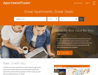 apartmentfinder.com screenshot