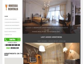 apartmentodessa.com screenshot