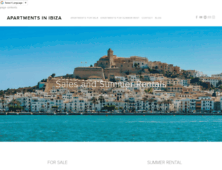 apartments-in-ibiza.com screenshot
