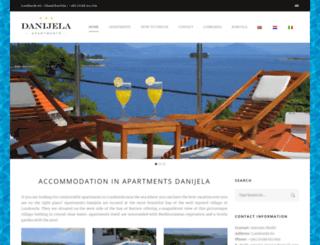 apartments-lumbarda.com screenshot