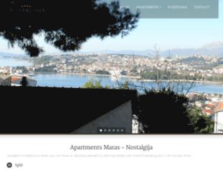apartments-maras.com screenshot