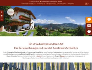 apartments-schoenblick.com screenshot