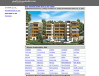 apartmentsandrenters.com screenshot