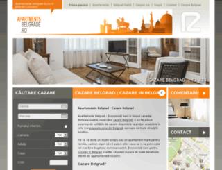 apartmentsbelgrade.ro screenshot
