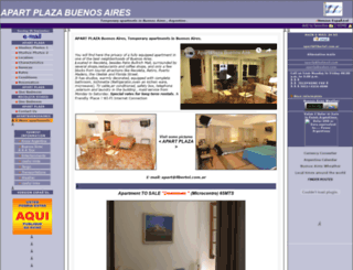apartplaza.com.ar screenshot