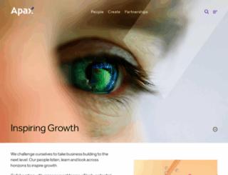 apax.com screenshot
