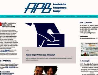 apbraslight.com.br screenshot