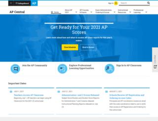apcanada.collegeboard.org screenshot