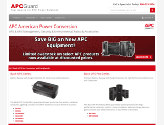apcguard.com screenshot