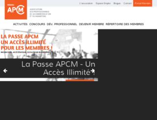 apcm.biz screenshot