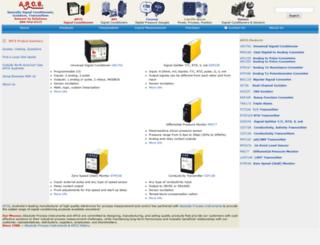 apcs.com screenshot