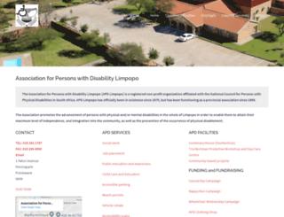 apdlimpopo.org screenshot