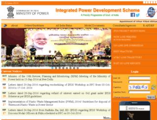 apdrp.gov.in screenshot