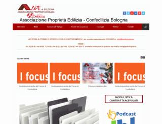 apebologna.eu screenshot