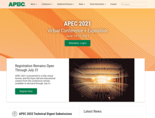 apec-conf.org screenshot