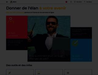 apec.fr screenshot