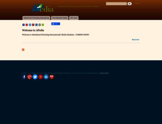 apedia.attachmentparenting.org screenshot