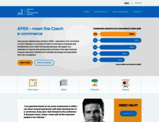 apek.cz screenshot