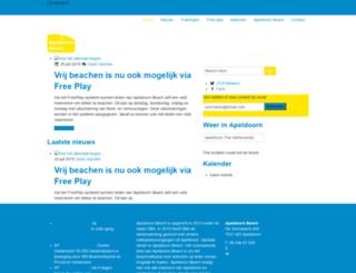 apeldoorn-beach.nl screenshot