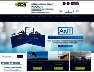 apemedical.com.au screenshot