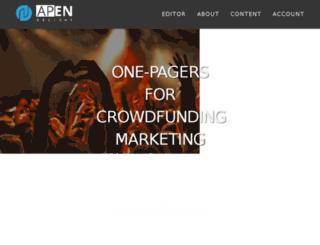 apen-designs.com screenshot