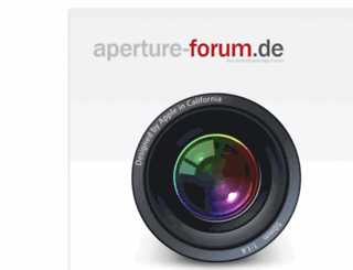 aperture-forum.de screenshot