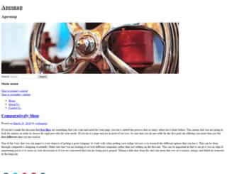 apesnap.com screenshot