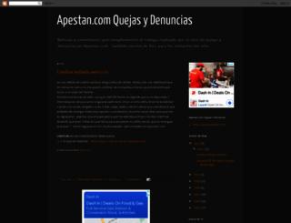 apestan.blogspot.mx screenshot
