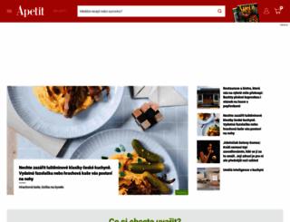 apetitonline.cz screenshot