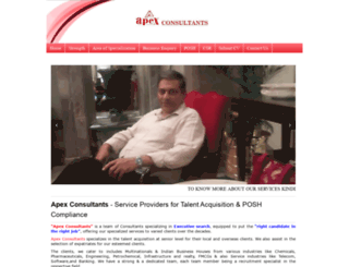 apexconsultants.co.in screenshot