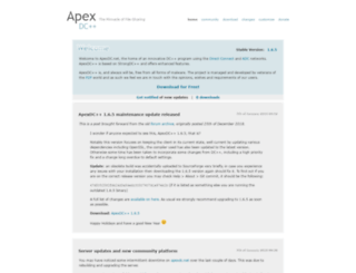 apexdc.net screenshot