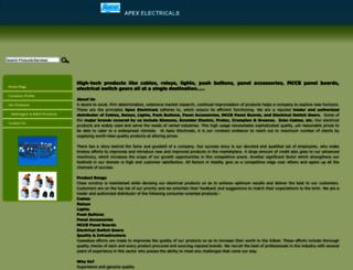 apexelectricals.tradeindia.com screenshot