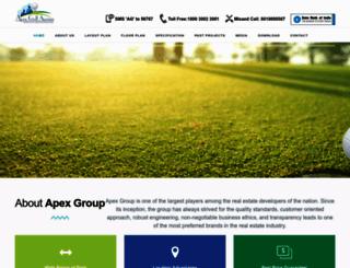 apexgolfavenue.com screenshot
