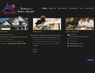 apexhome.com.au screenshot