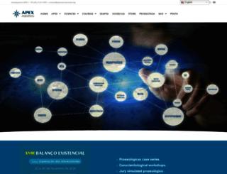 apexinternacional.org screenshot