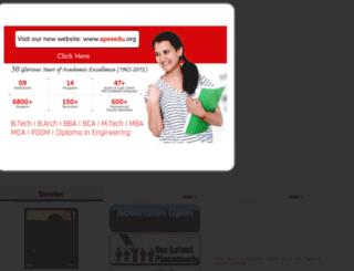 apexjaipur.org screenshot