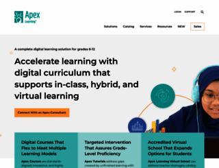 apexlearning.com screenshot