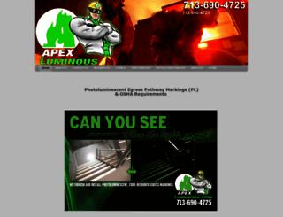 apexluminous.com screenshot