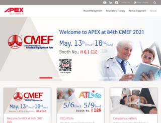 apexmedicalcorp.co.uk screenshot