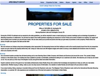 apexrealtygroup.com screenshot