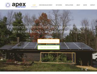 apexsolarpower.businesscatalyst.com screenshot