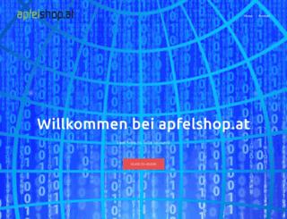 apfelshop.at screenshot
