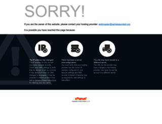 aphasiaunited.org screenshot