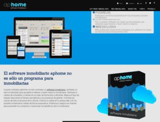aphome.es screenshot