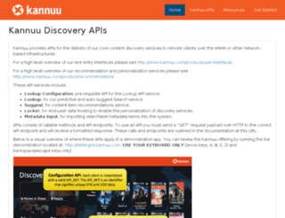 api-doc.kannuu.com screenshot