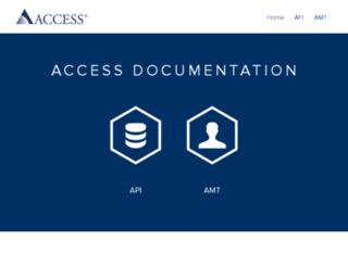 api-docs.accessdevelopment.com screenshot