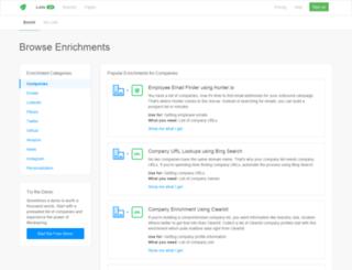 api.blockspring.com screenshot