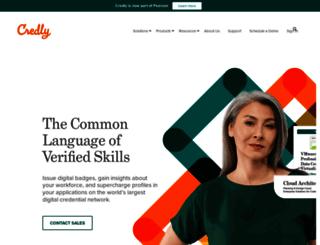 api.credly.com screenshot