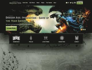 api.dragonage.com screenshot